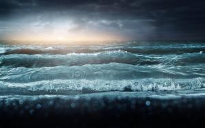 Stormy Lake Ontario