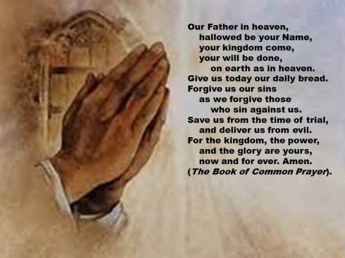 Lord's Prayer