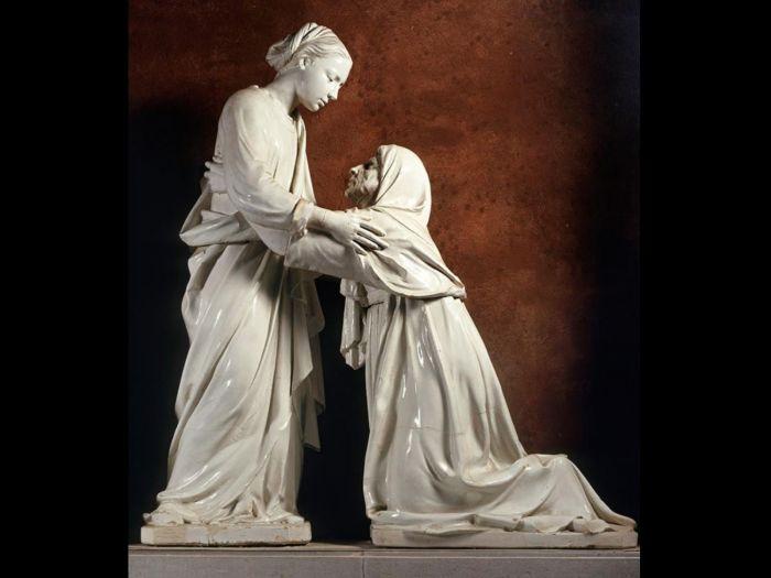 Luca della Robbia-visitation